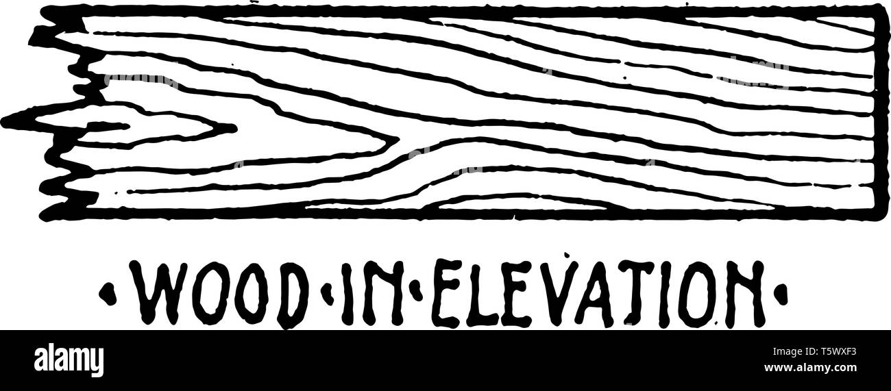 Wood in Elevation Material Symbol is copper or glass, and