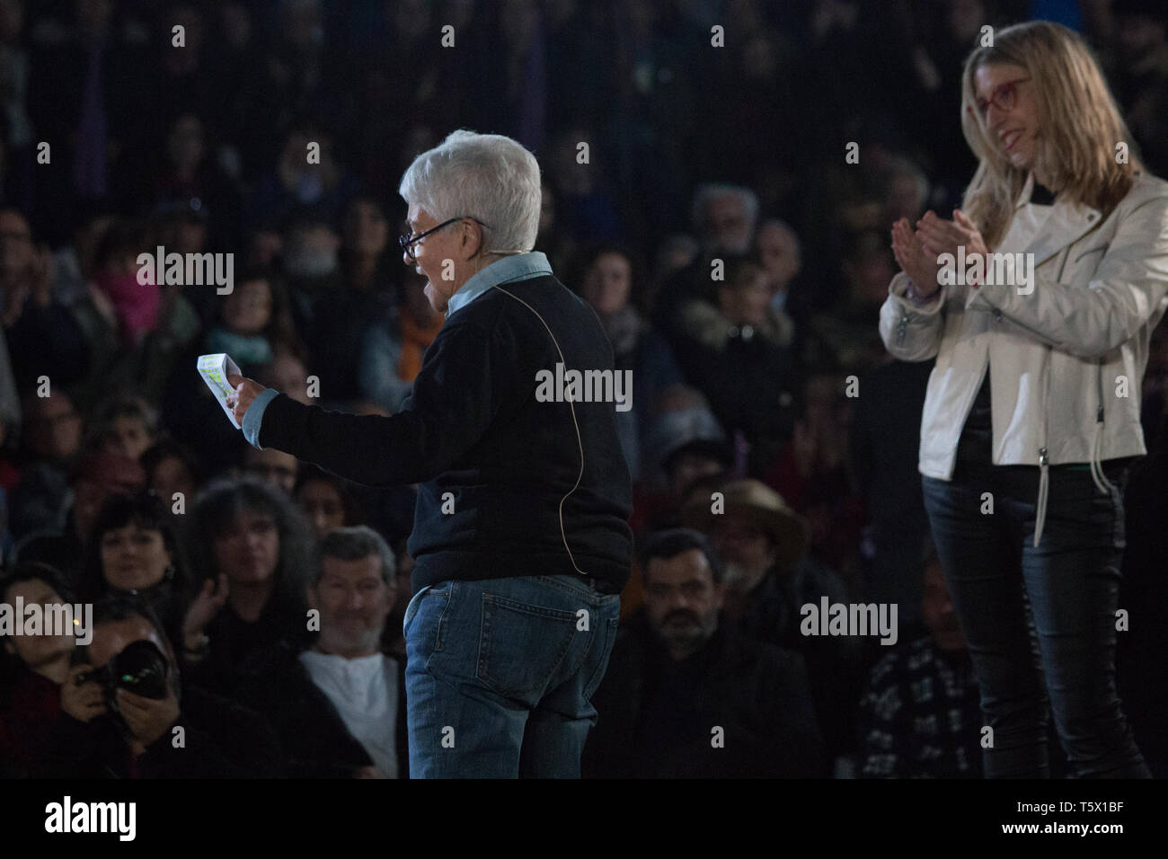 Madrid, Spain. 26th Apr, 2019. Boti leader of LGTBI movement. Credit: Lev Radin/Pacific Press/Alamy Live News - Stock Image