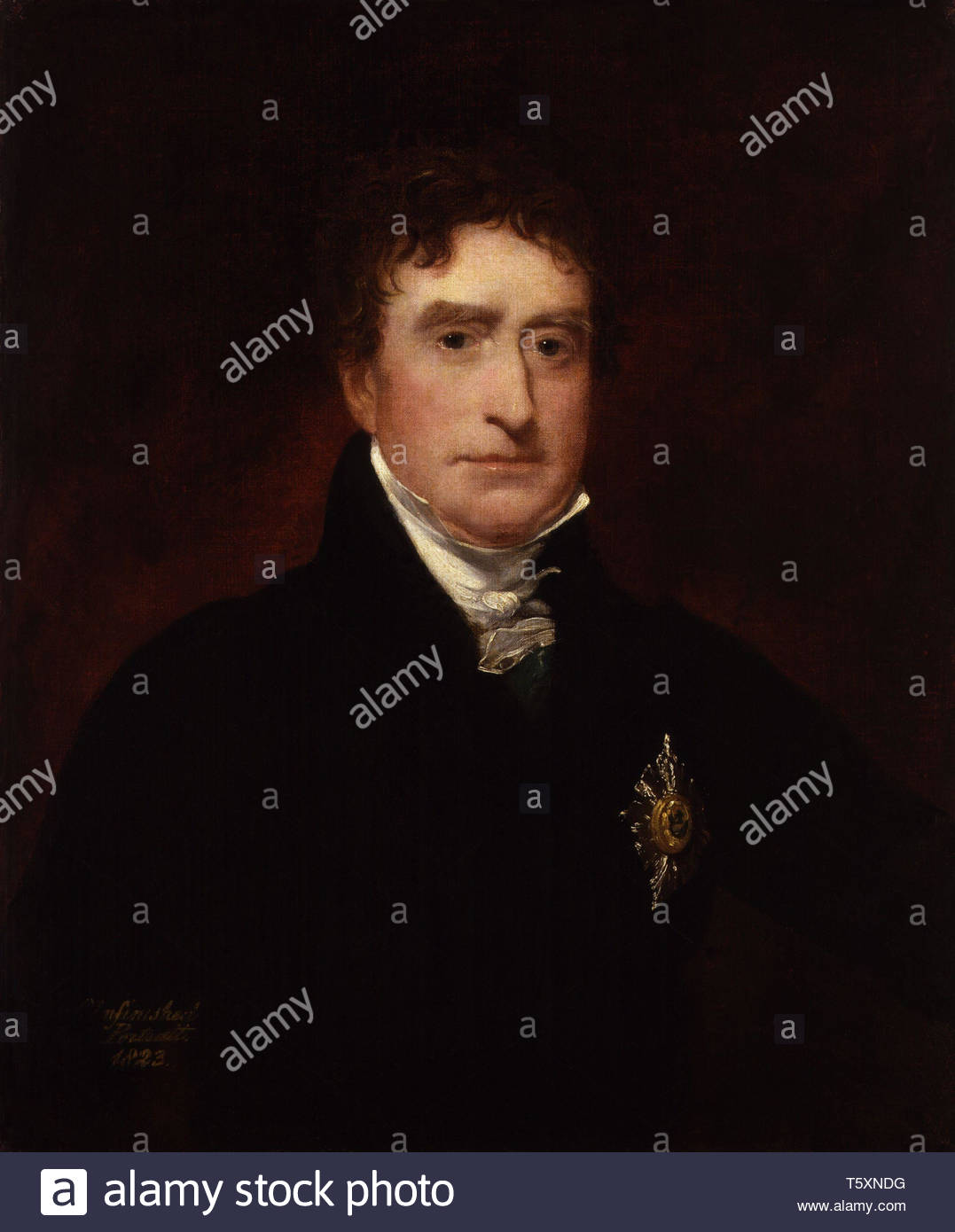 Thomas Erskine, 1st Baron Erskine - Sir William Charles Ross - Stock Image