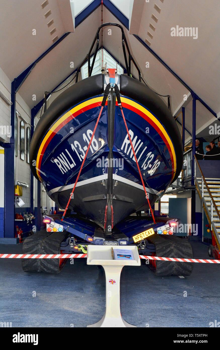 The new Llandudno Lifeboat station - Stock Image