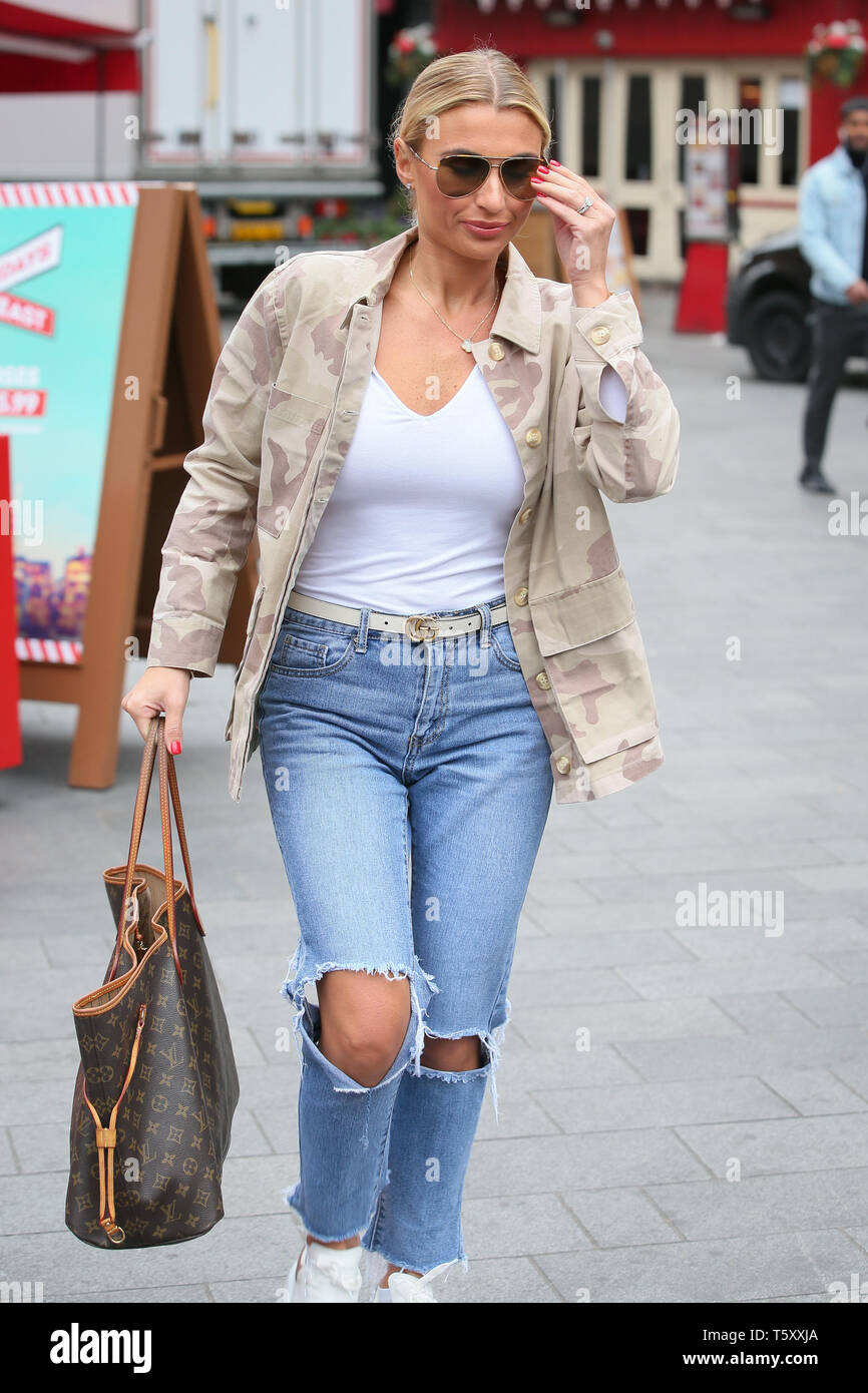 66272da517b23 Sam and Billie Faiers leaving Heart Radio Studios after talking about  weddings and their TV Show