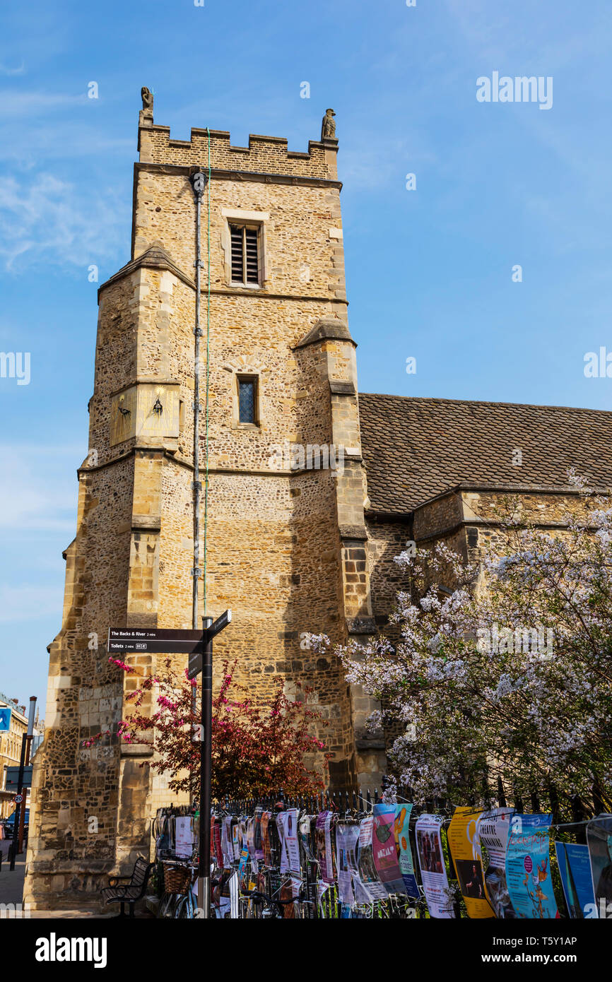 St Botolphs Church, Trumpington Street, Cambridge, Cambridgeshire Stock Photo