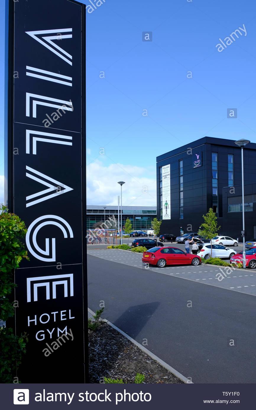 Village Hotel and Gym, Crewe Toll, Edinburgh Scotland - Stock Image