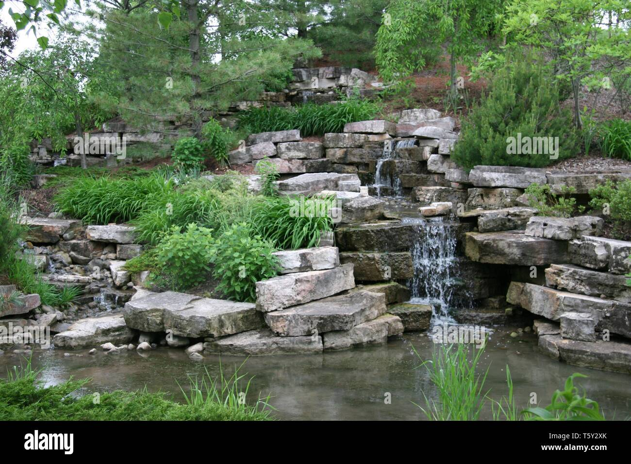 Frederik Meijer Gardens, Grand Rapids, Michigan - Stock Image