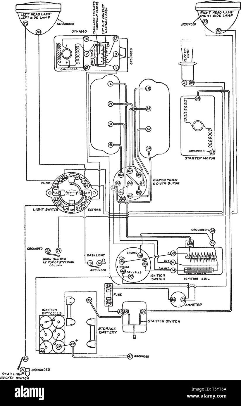 Groovy Electrical Diagram For Gray Davis Starting And Lighting Wiring Cloud Inamadienstapotheekhoekschewaardnl