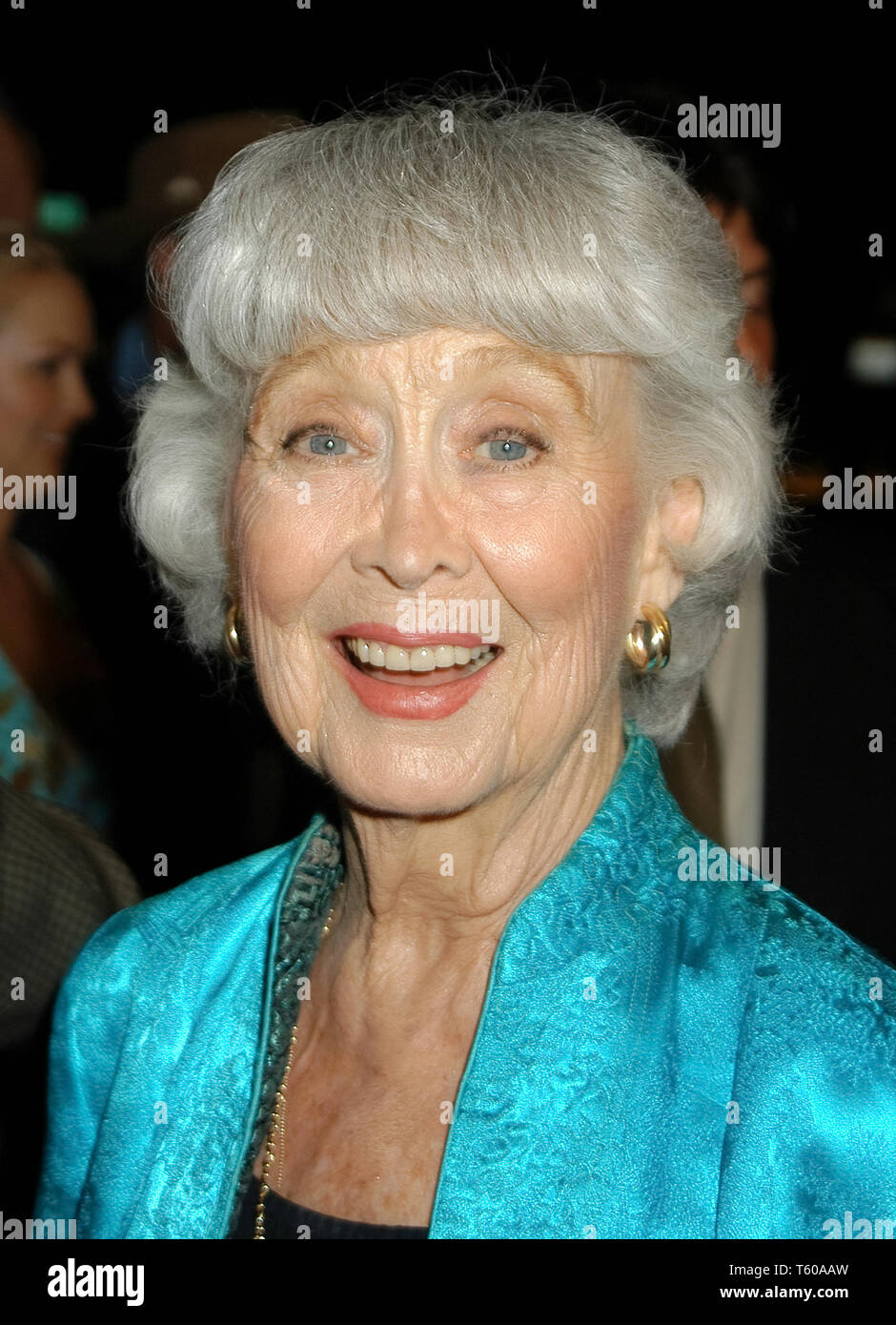 Betty Garrett at the Academy of Television Arts & Sciences dinner honoring the 55th Annual Primetime Emmy Awards Nominees for Outstanding Performing Talent at Spagos in Beverly Hills, CA. The event took place on Thursday, September 18, 2003. Photo by: SBM / PictureLux  File Reference # 33790_1405SBMPLX - Stock Image