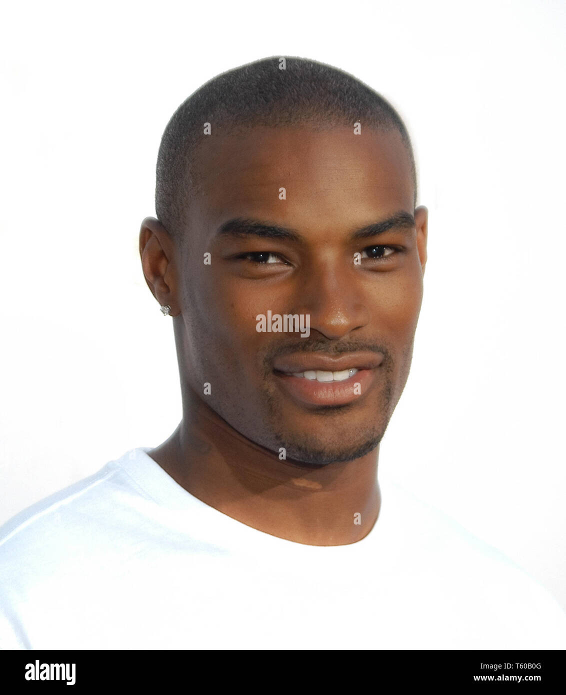 Tyson Beckford at The World Premiere of Columbia Pictures' 'S.W.A.T.', held at The Mann Village Theater in Westwood, CA. The event took place on Wednesday, July 30, 2003. Photo by: SBM / PictureLux  File Reference # 33790_937SBMPLX - Stock Image