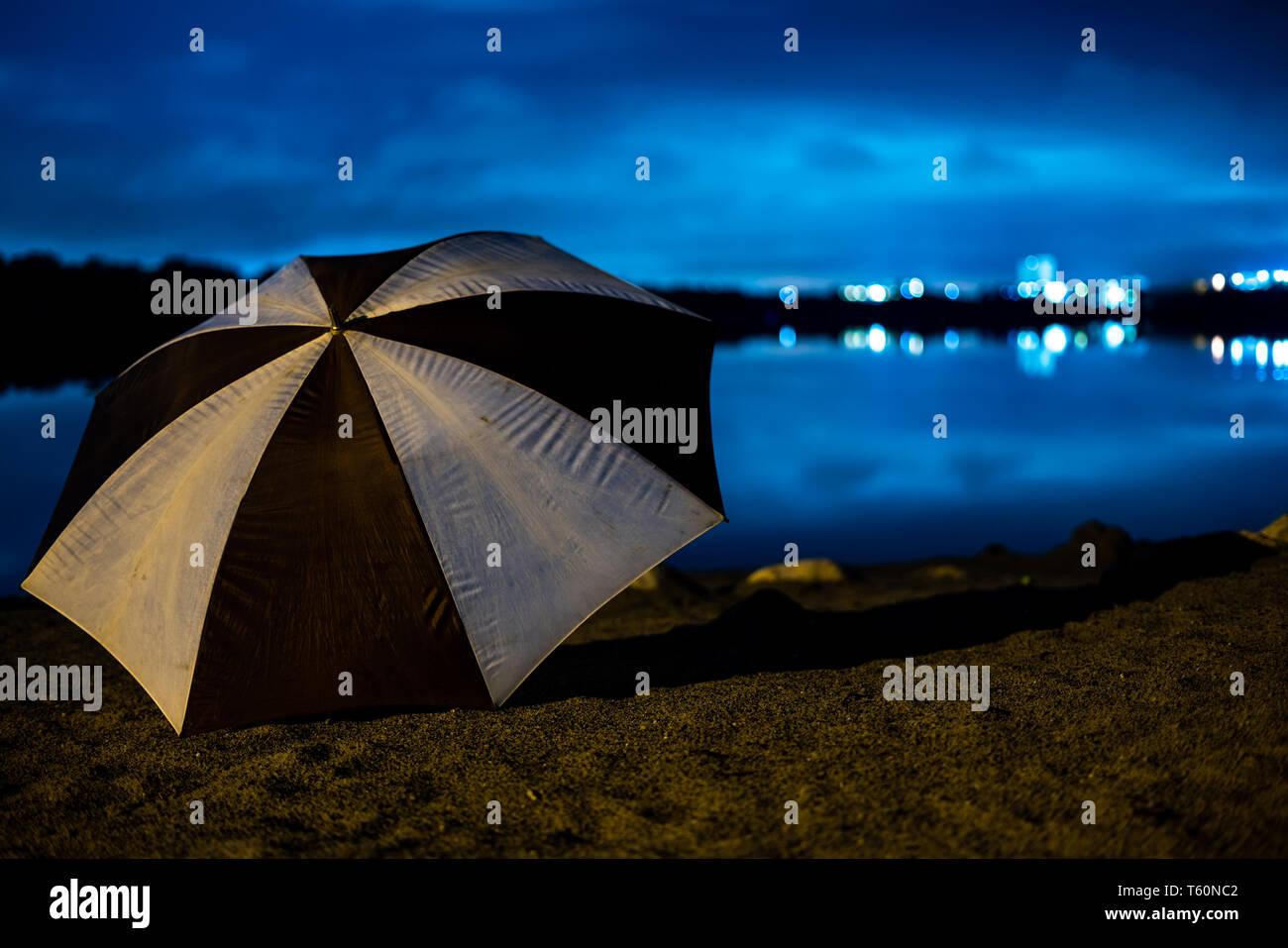 Umbrellaart - Stock Image