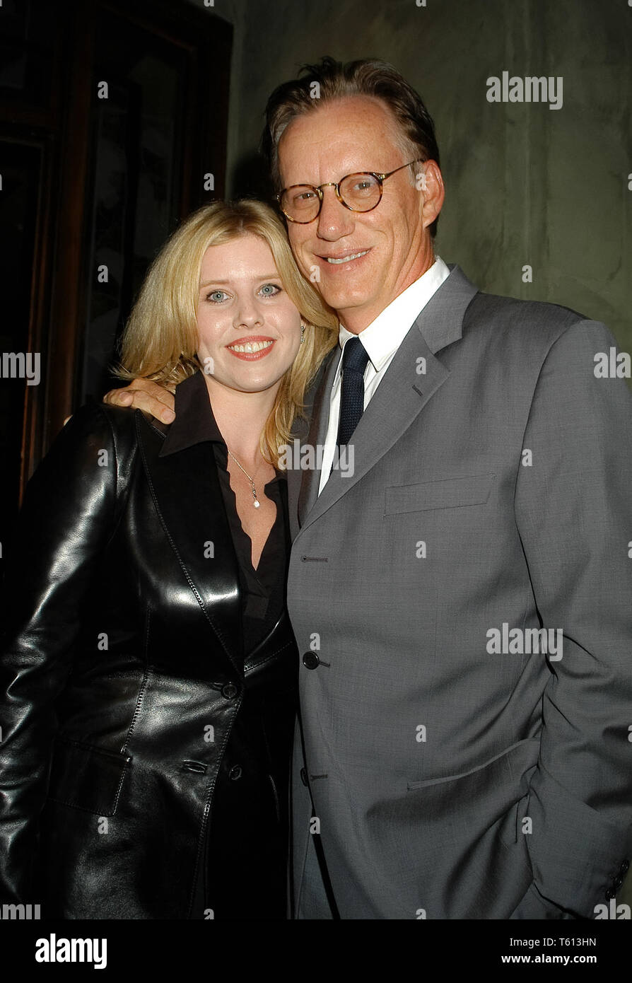 James Woods & Dawn DeNoon at the Academy of Television Arts & Sciences dinner honoring the 55th Annual Primetime Emmy Awards Nominees for Outstanding Performing Talent at Spagos in Beverly Hills, CA. The event took place on Thursday, September 18, 2003. Photo by: SBM / PictureLux  File Reference # 33790_2423SBMPLX - Stock Image