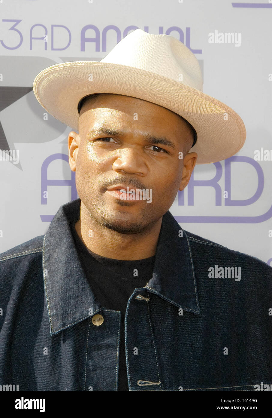 Darryl McDaniels, 'DMC' of Run DMC at the 3rd Annual BET Awards, held at The Kodak Theatre in Hollywood, CA. The event took place on Tuesday, June 24, 2003. Photo by: SBM / PictureLux  File Reference # 33790_1883SBMPLX - Stock Image
