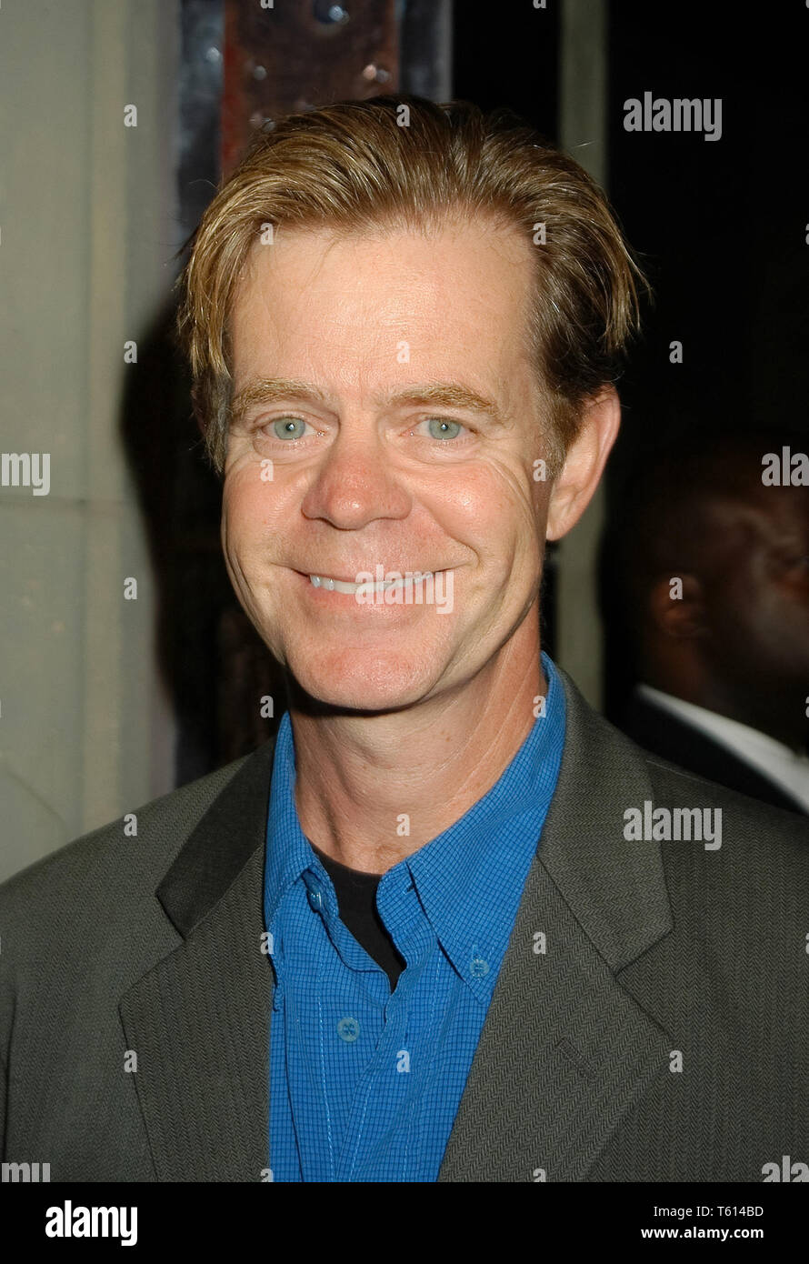 William H. Macy at the Academy of Television Arts & Sciences dinner honoring the 55th Annual Primetime Emmy Awards Nominees for Outstanding Performing Talent at Spagos in Beverly Hills, CA. The event took place on Thursday, September 18, 2003. Photo by: SBM / PictureLux  File Reference # 33790_1830SBMPLX - Stock Image
