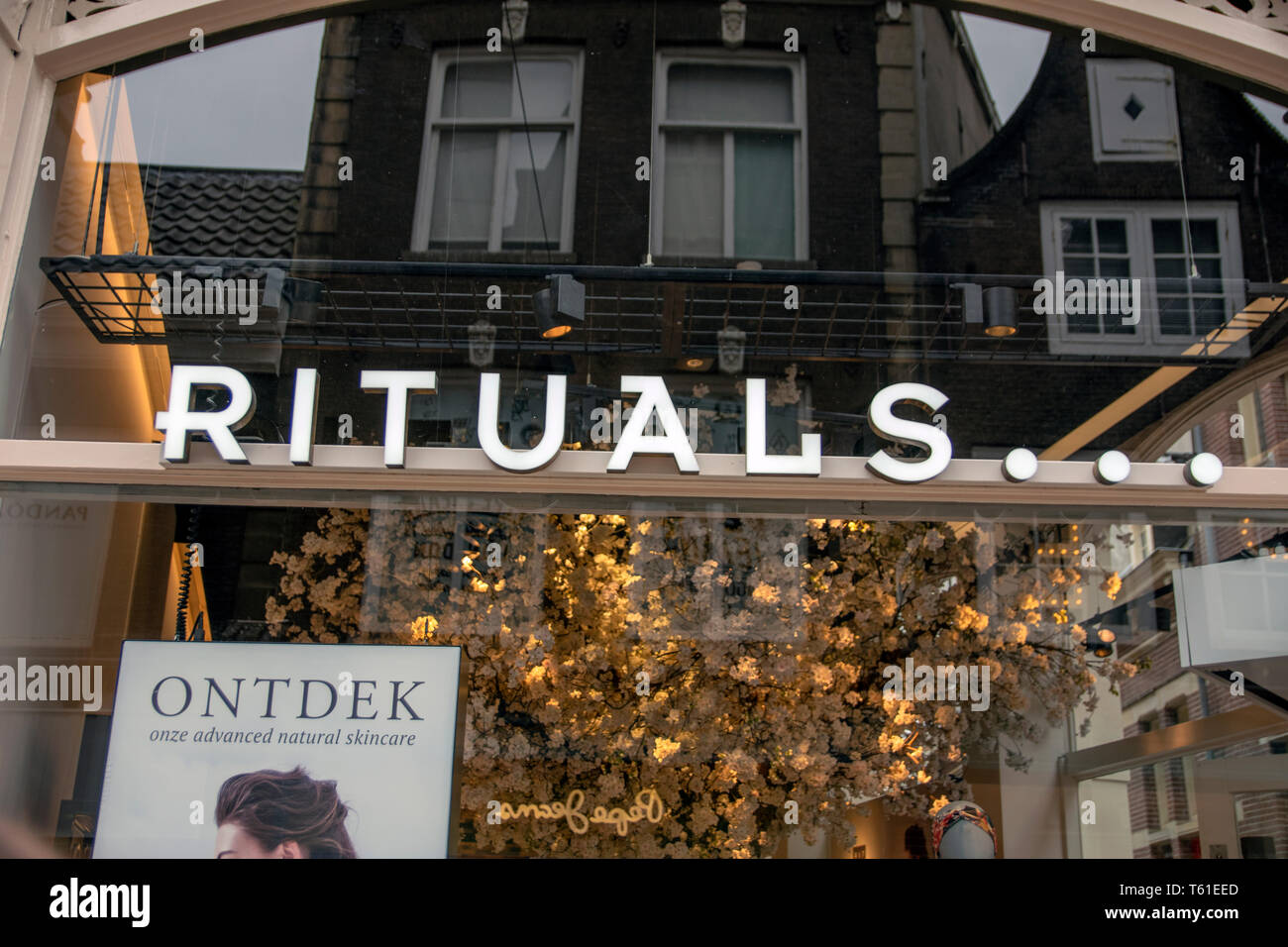 Billboard Rituals At Amsterdam The Netherlands 2019 - Stock Image