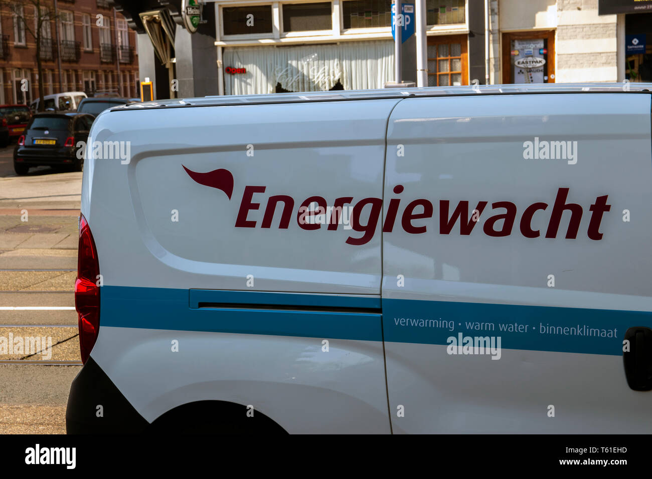 Energiewacht Company Car At Amsterdam The Netherlands 2019 Stock