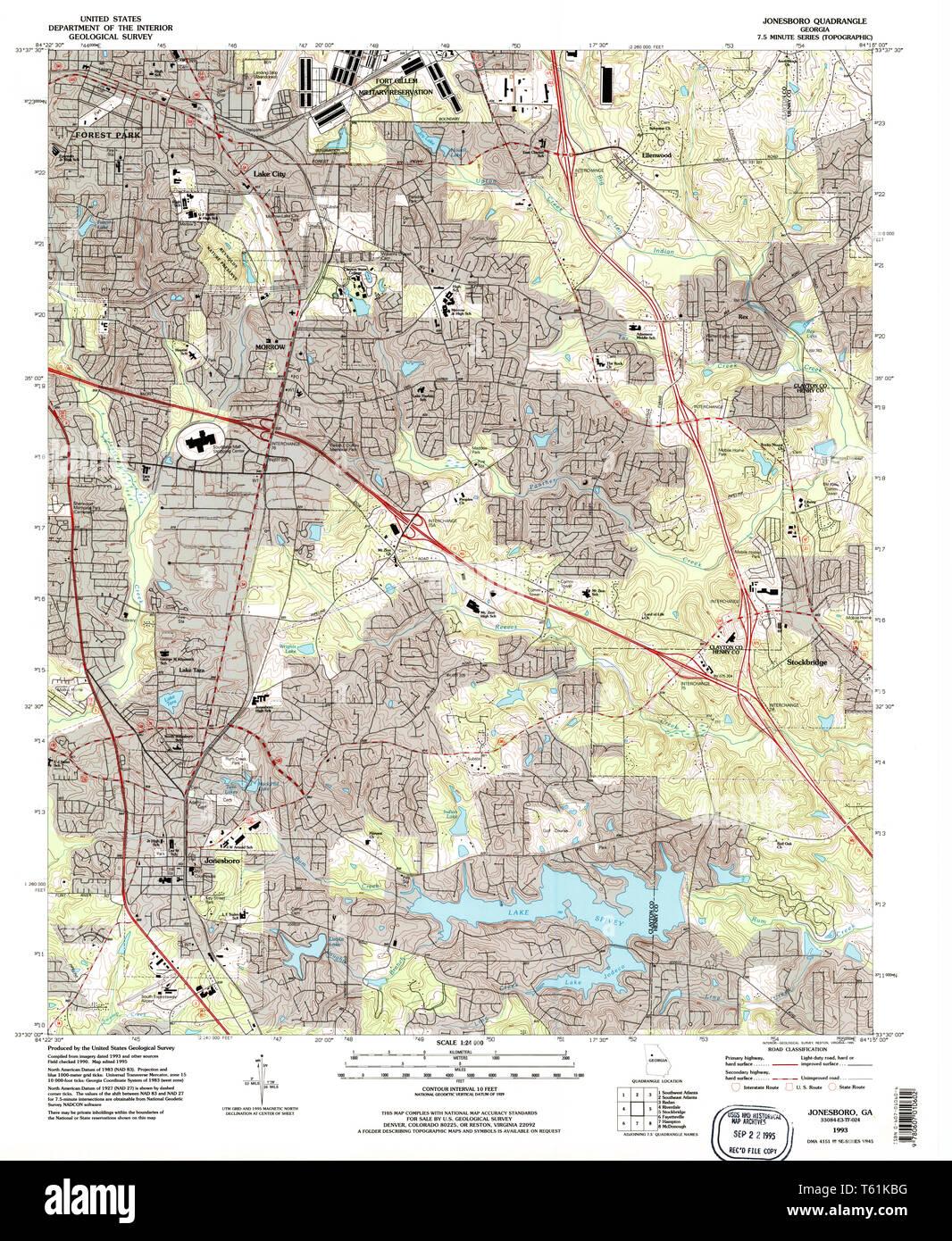 Map Of Jonesboro Georgia.Jonesboro Georgia Stock Photos Jonesboro Georgia Stock Images Alamy