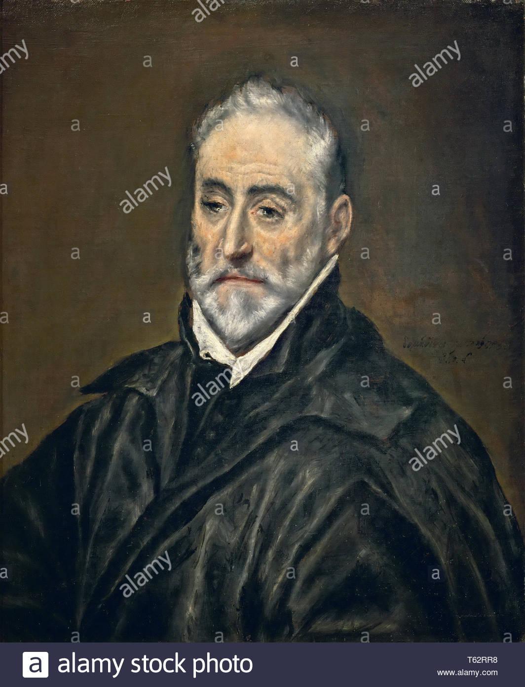 El Greco-Antonio de Covarrubias - Stock Image