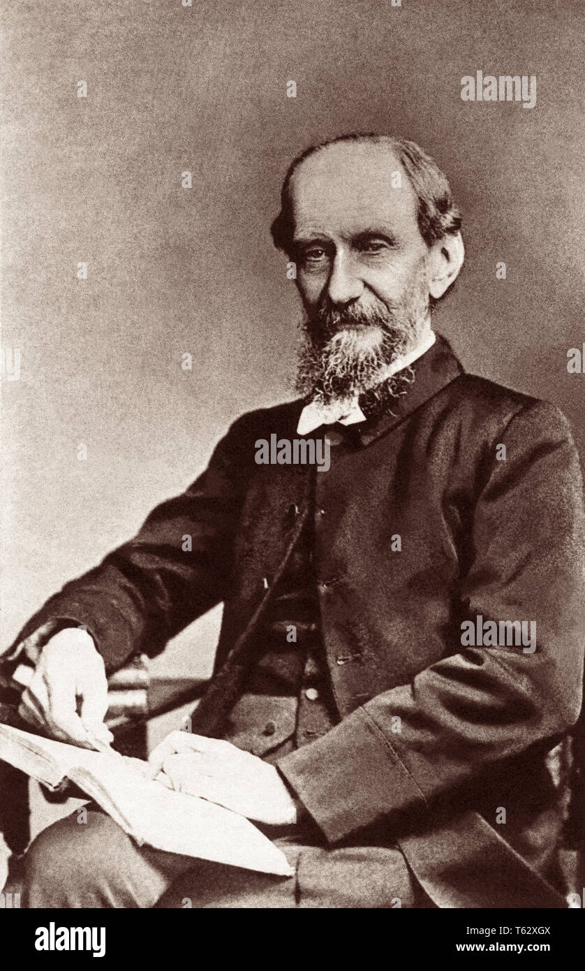 Andrew Murray, South African pastor and writer, in a portrait by Elliott & Fry, c1895. - Stock Image