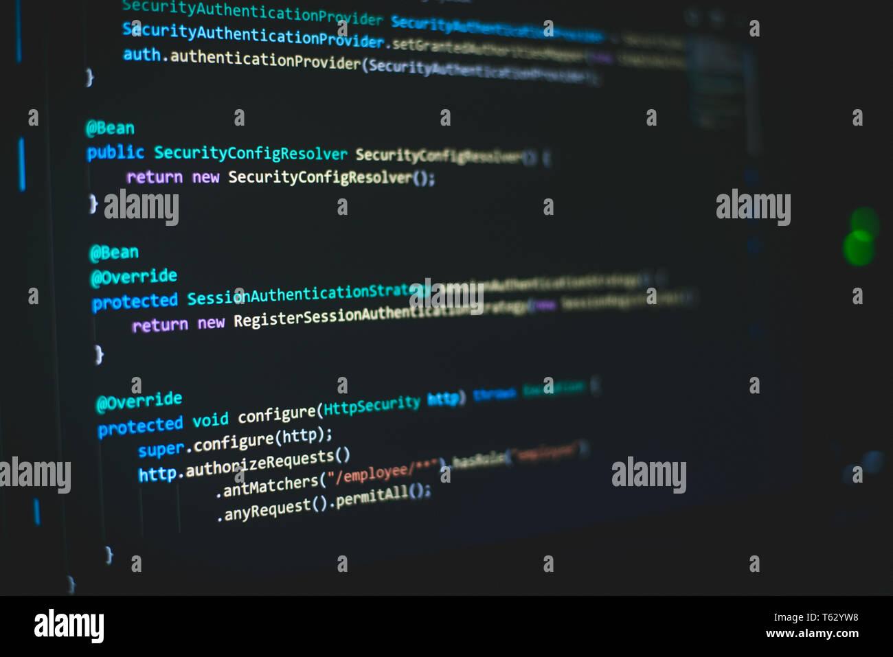 Java Programming Stock Photos & Java Programming Stock