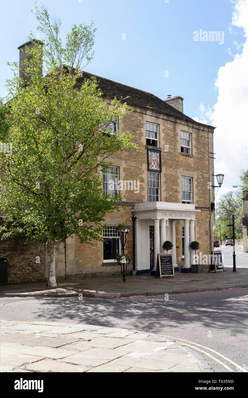 The Methuen Arms Hotel, Corsham, Wiltshire, England, UK Stock Photo