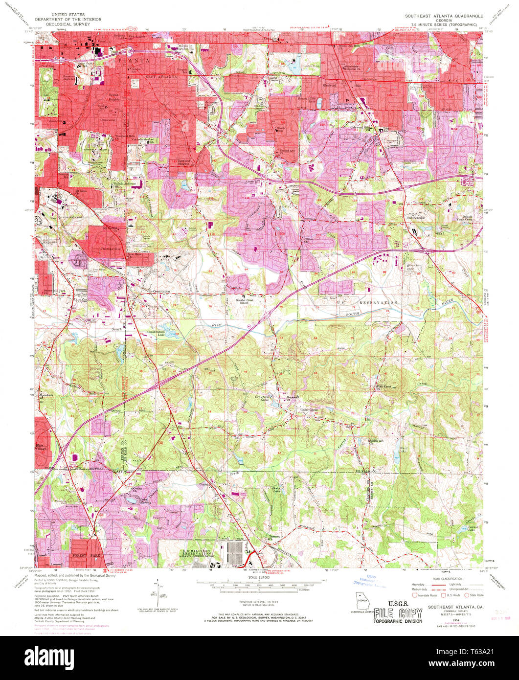USGS TOPO Map Georgia GA Southeast Atlanta 246962 1954 24000 ... Map Of Southeast Ga on map of southeast texas, map of southeast kentucky, map of southeast ak, map of southeast la, map of southeast ct, map of southeast coast of us, map of southeast us states, map of southeast cu, map of southern georgia, map of southeast new jersey, map of southeast nm, map of southeast usa, map of southeast florida cities, map of southeast wi, map of southeast canada, map of southeast new york, map of south georgia, map of southeast missouri, map of southeast georgia cities, map of southeast wy,