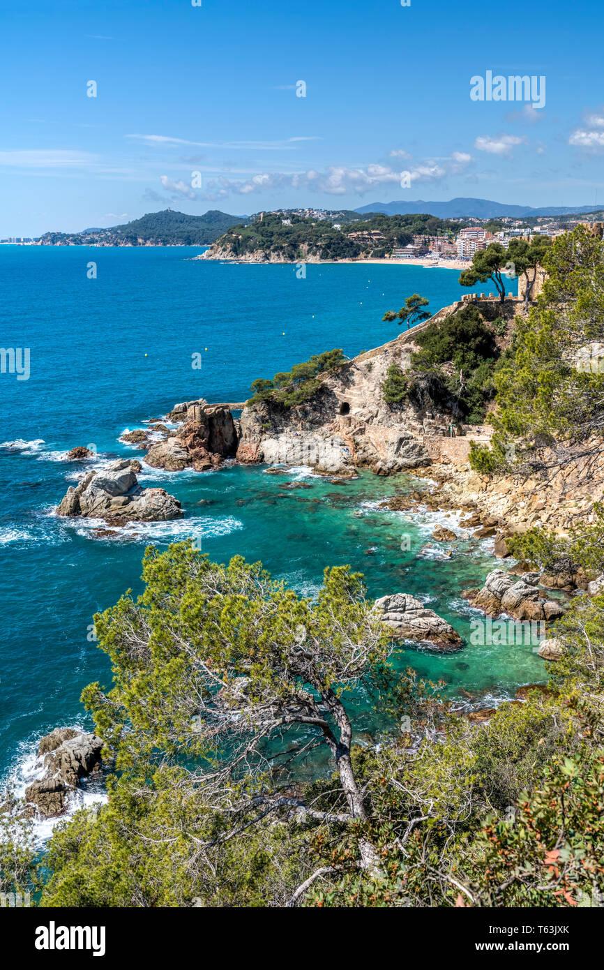 Lloret de Mar, Costa Brava, Catalonia, Spain - Stock Image