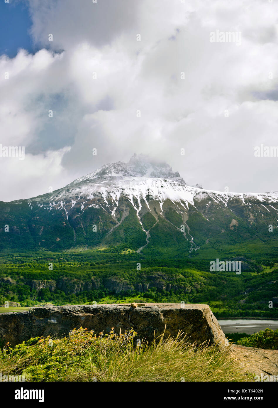November in Reserva Nacional Cerro Castillo in the Aysén of Chile. - Stock Image