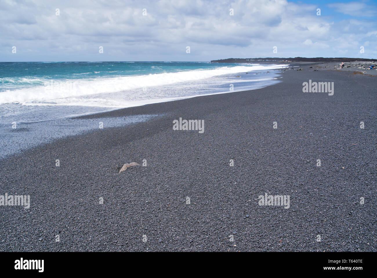 Janubio beach in Lanzarote, Spain Stock Photo