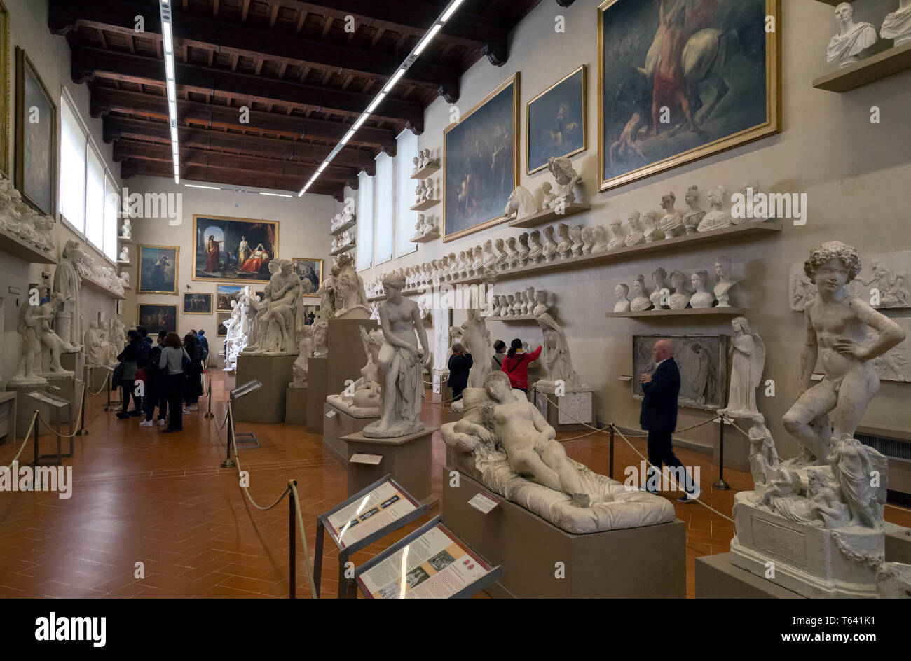 Museum of Academy,. Florence, Italy - Stock Image