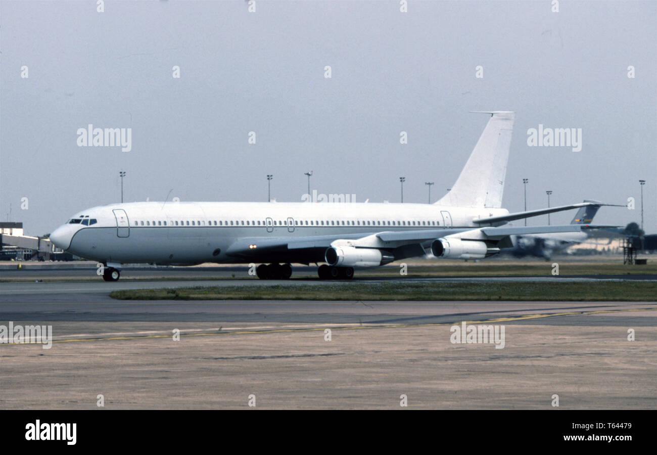 USAF United States Air Force Boeing EC-137D - Stock Image
