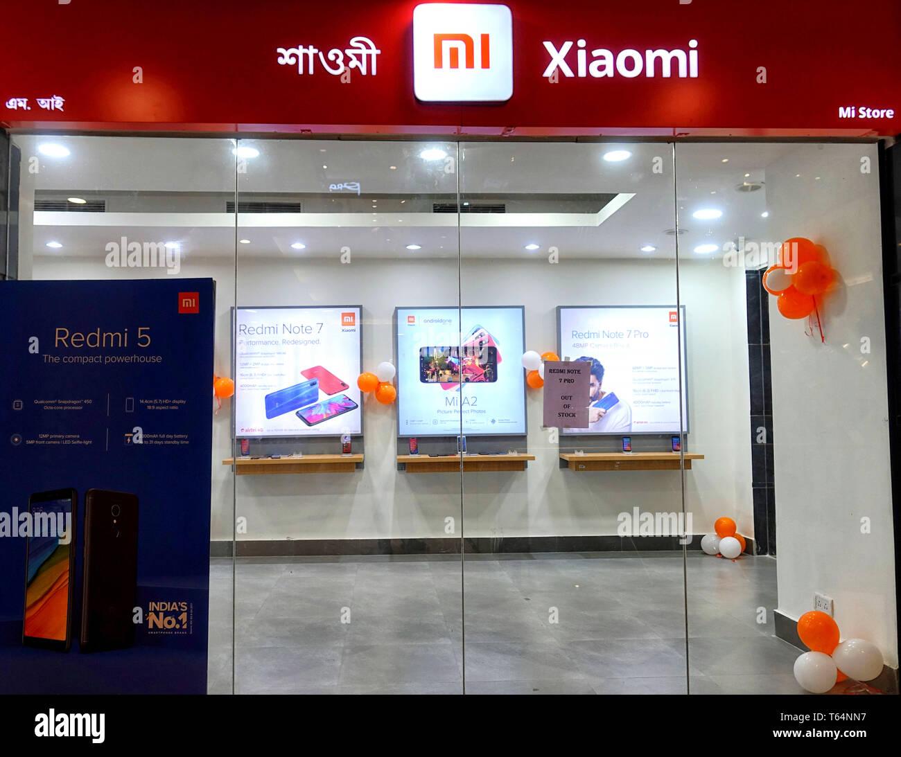 Kolkata West Bengal India 28th Apr 2019 Mi Home Mobile