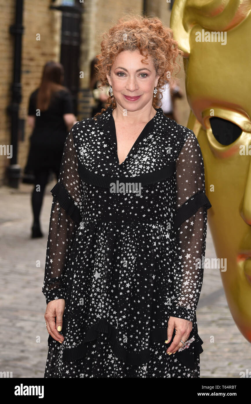 LONDON, UK. April 28, 2019: Alex Kingston at the BAFTA Craft Awards 2019, The Brewery, London. Picture: Steve Vas/Featureflash Stock Photo