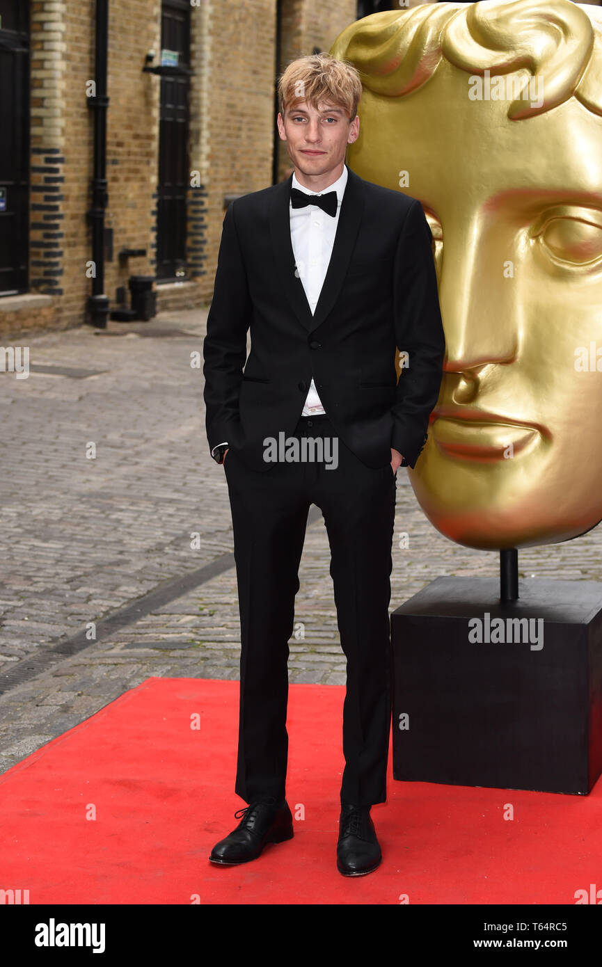 LONDON, UK. April 28, 2019: Charlie Cooper at the BAFTA Craft Awards 2019, The Brewery, London. Picture: Steve Vas/Featureflash Stock Photo