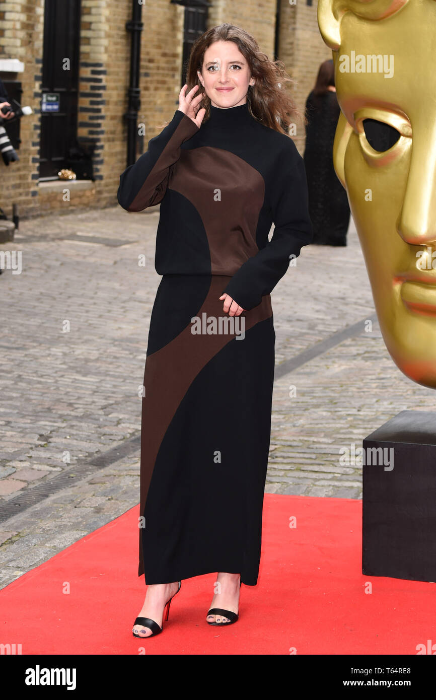LONDON, UK. April 28, 2019: Louisa Harland at the BAFTA Craft Awards 2019, The Brewery, London. Picture: Steve Vas/Featureflash Stock Photo