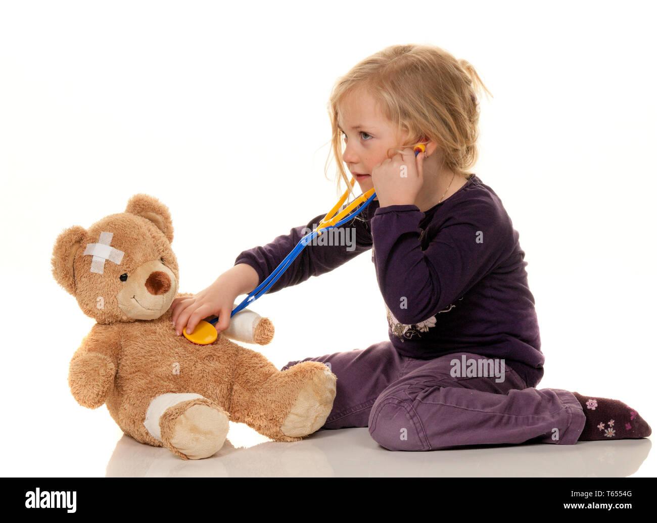pediatrician symbol photo - Stock Image