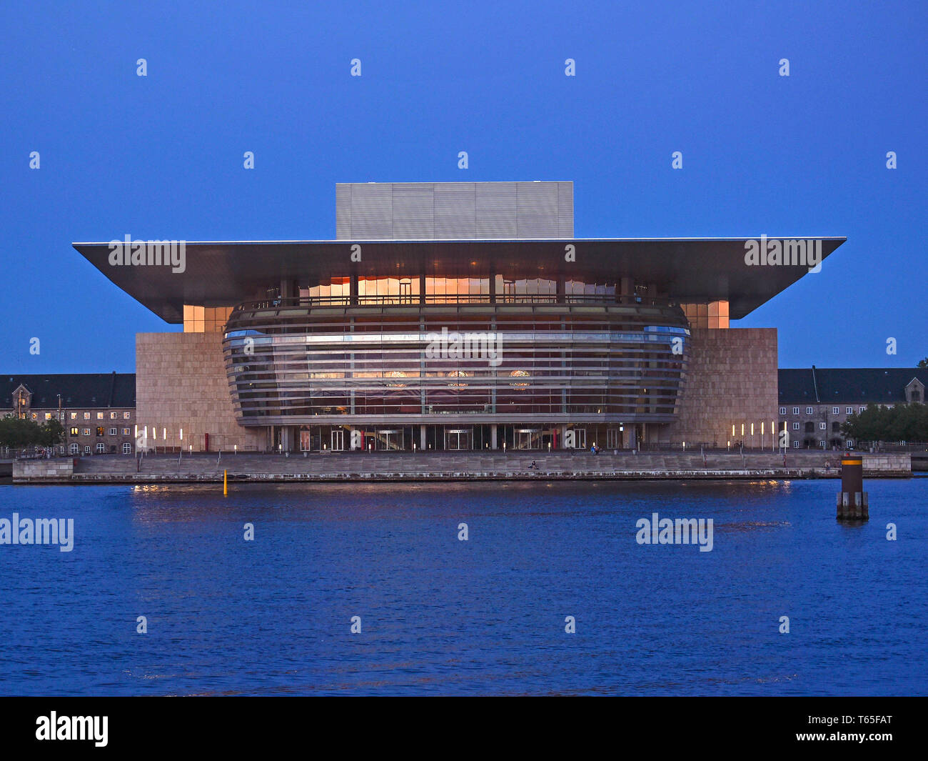 The Copenhagen Opera House is the national opera house of