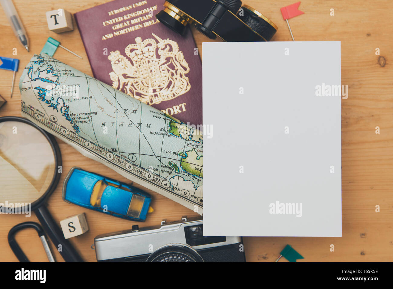 Plan A Road Trip >> Road Trip Travel Planning Background Stock Photo 244757898 Alamy