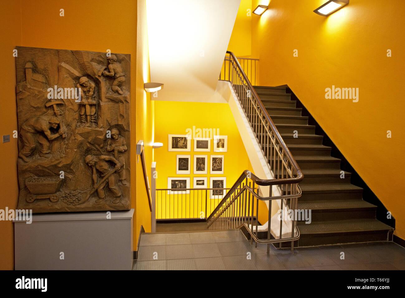 Founders and entrepreneurs Museum, Muelheim, Ruhr area, Germany, Europe - Stock Image