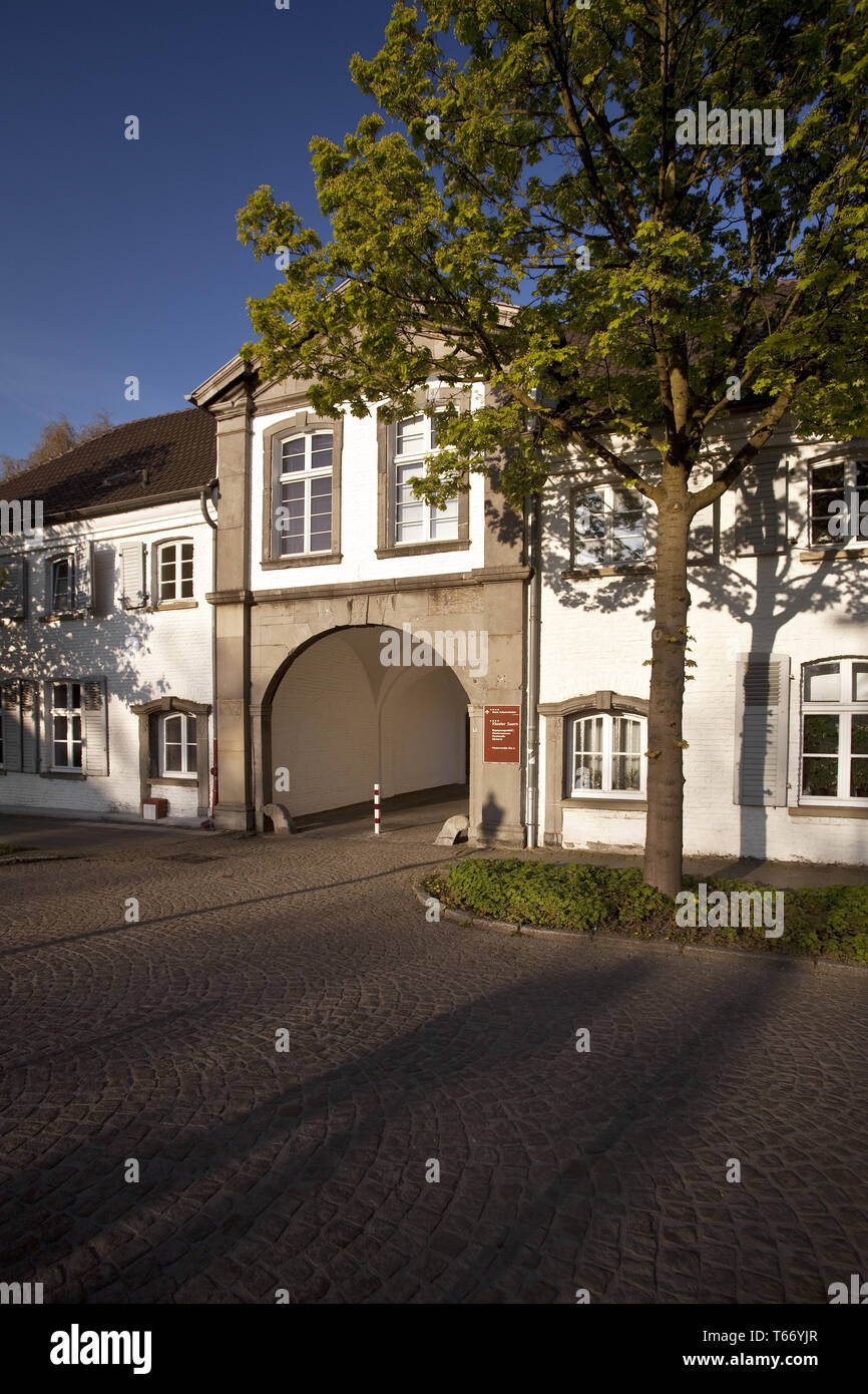 Monastery Saarn, Muelheim, Ruhr area, Germany, Europe - Stock Image