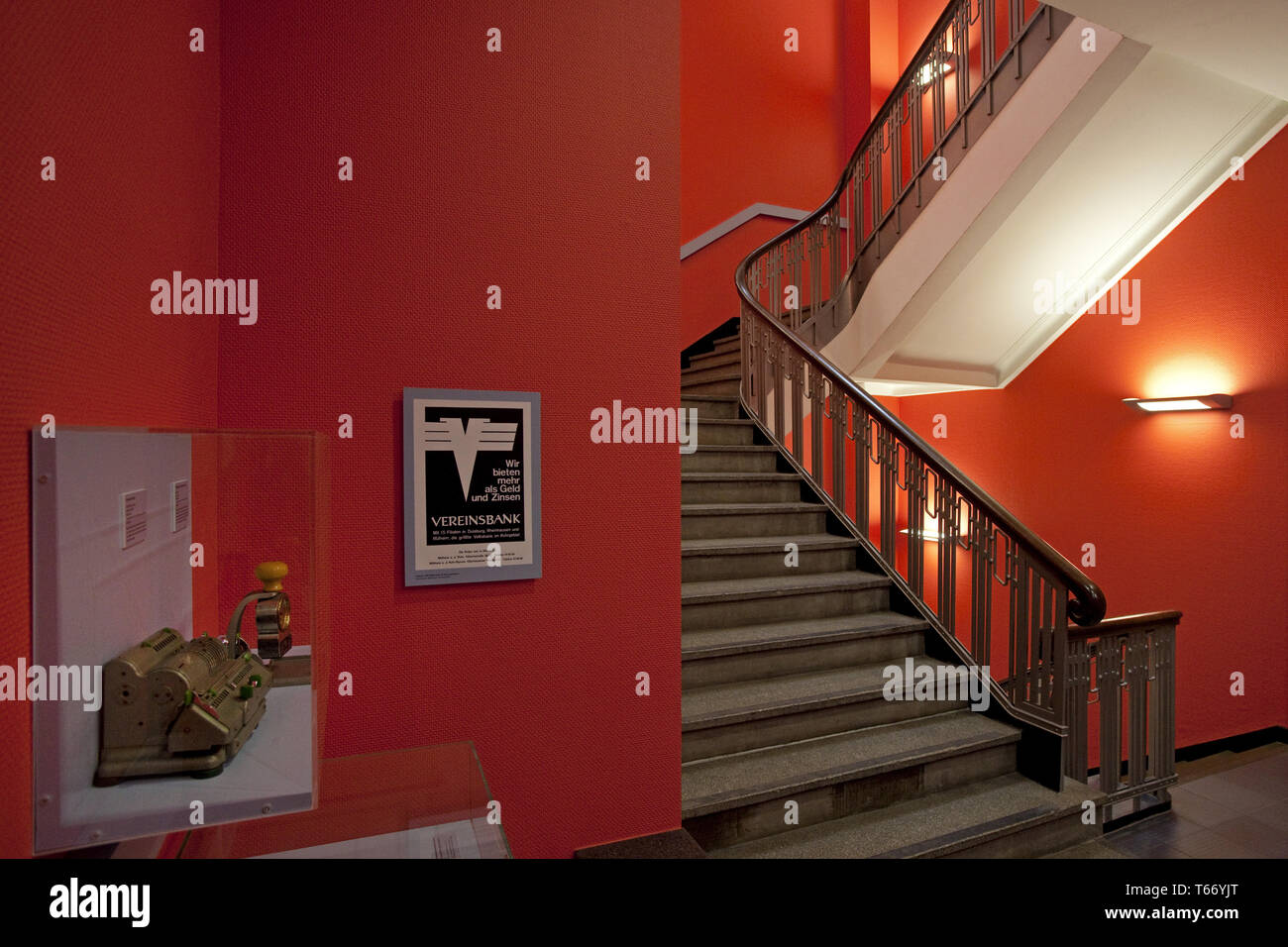 Founders and entrepreneurs Museum, Muelheim, Ruhr area, Germany, Europe - Stock Image