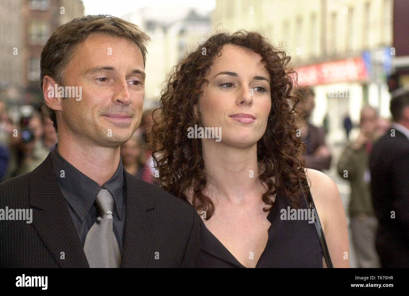 Robert Carlyle And Anastasia Carlyle High Resolution Stock Photography And Images Alamy