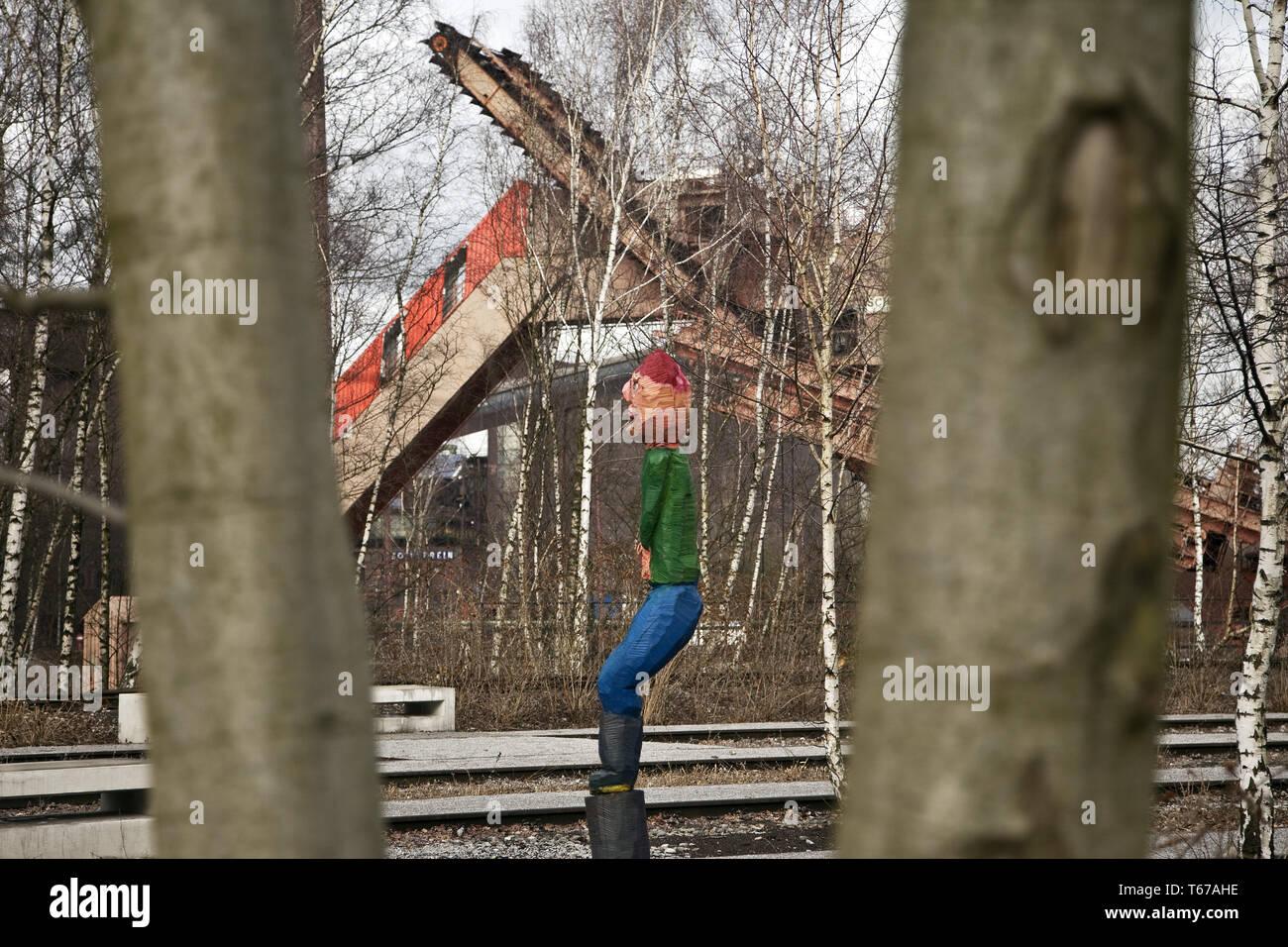 Zeche Zollverein, Essen, Ruhr area, Germany, Europe - Stock Image