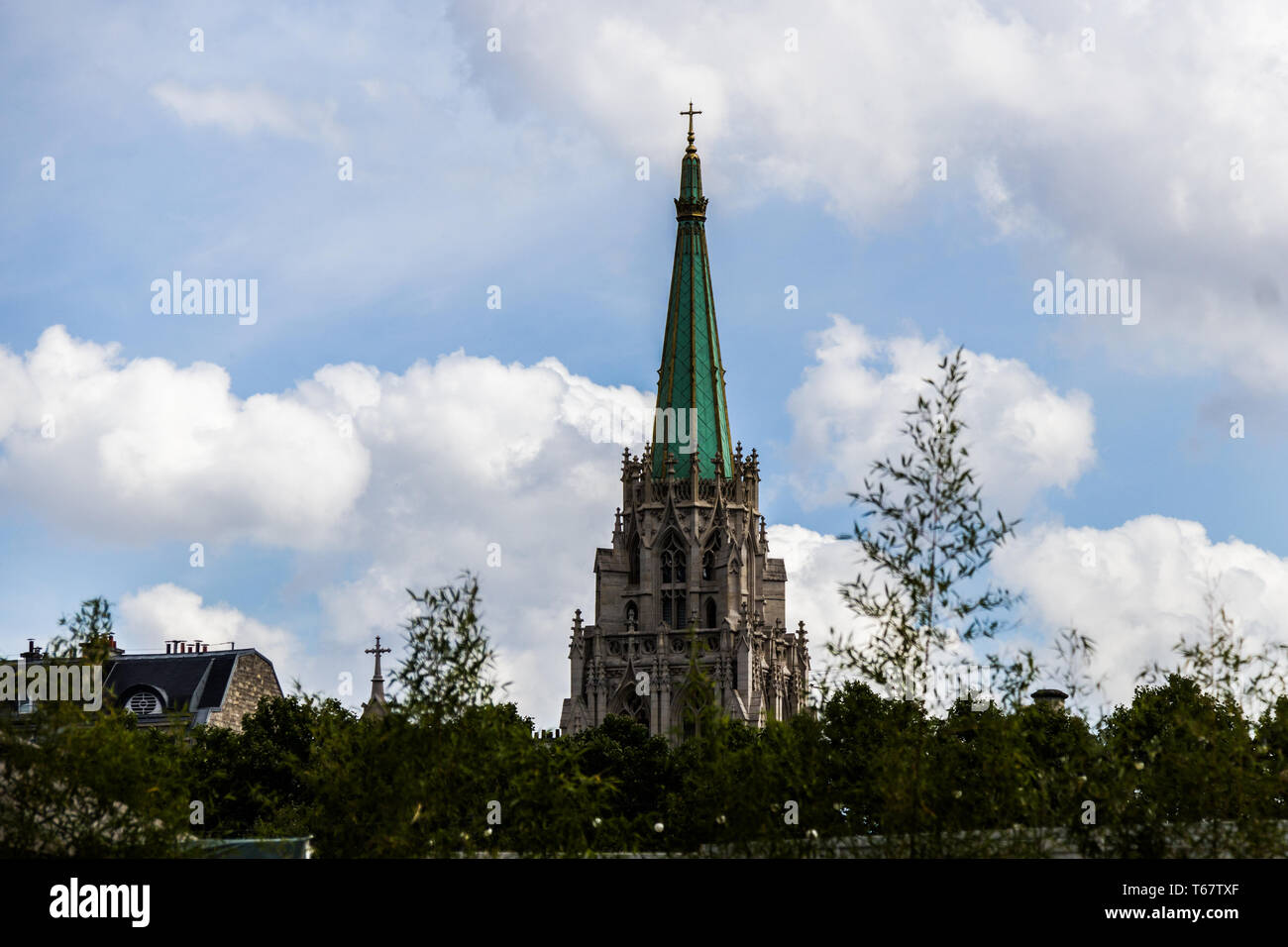 The American Church in Paris, France Stock Photo