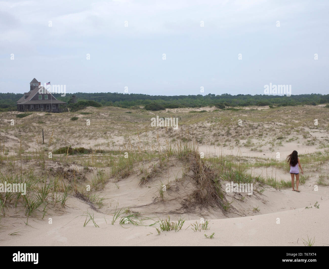 Summer, outer banks, north carolina, virginia Stock Photo