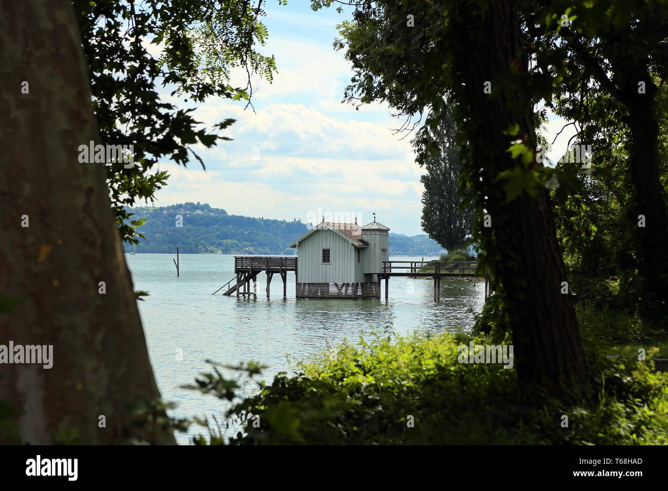 Lake Constance, Alpine foreland, South Germany - Stock Image