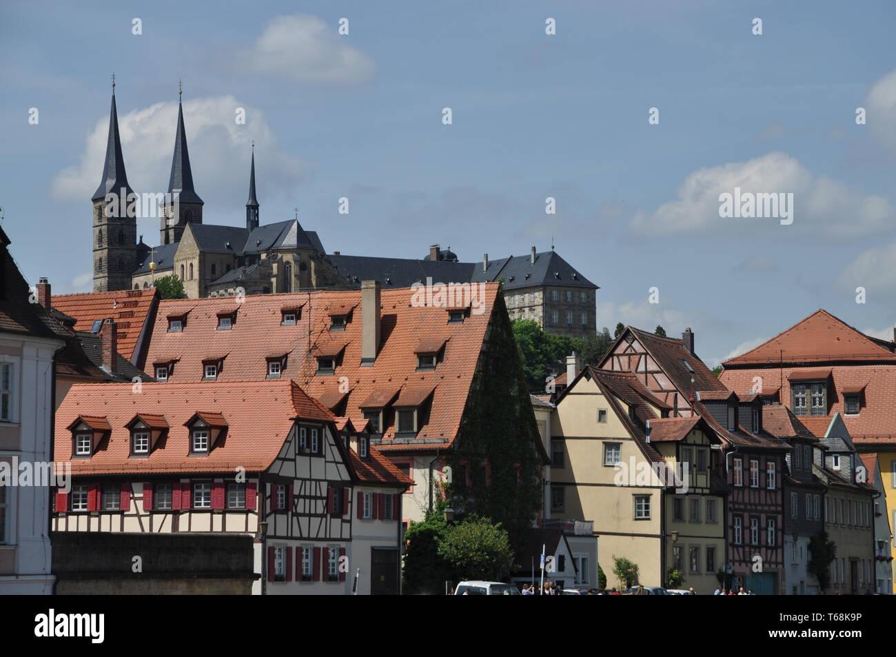 Bamberg, Bavaria, South Germany - Stock Image