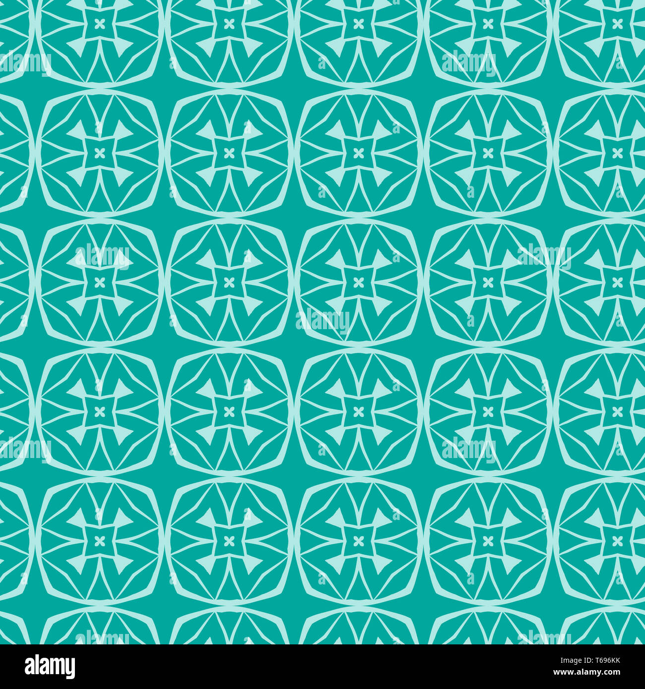 Tribal art ethnic seamless pattern. Boho print. Ethno ornament - Stock Image
