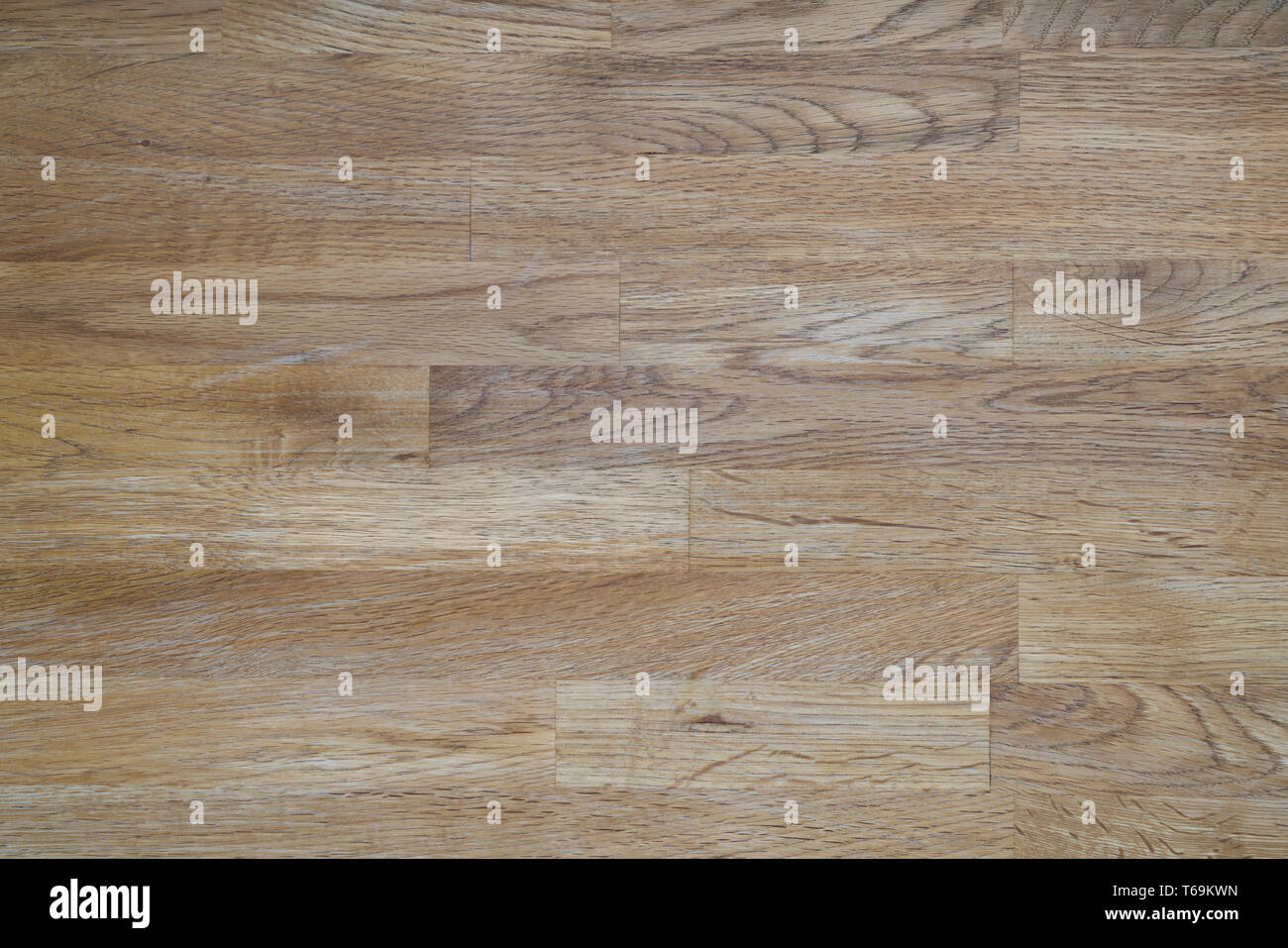 Detailed picture of the surface of an old wooden table - Stock Image