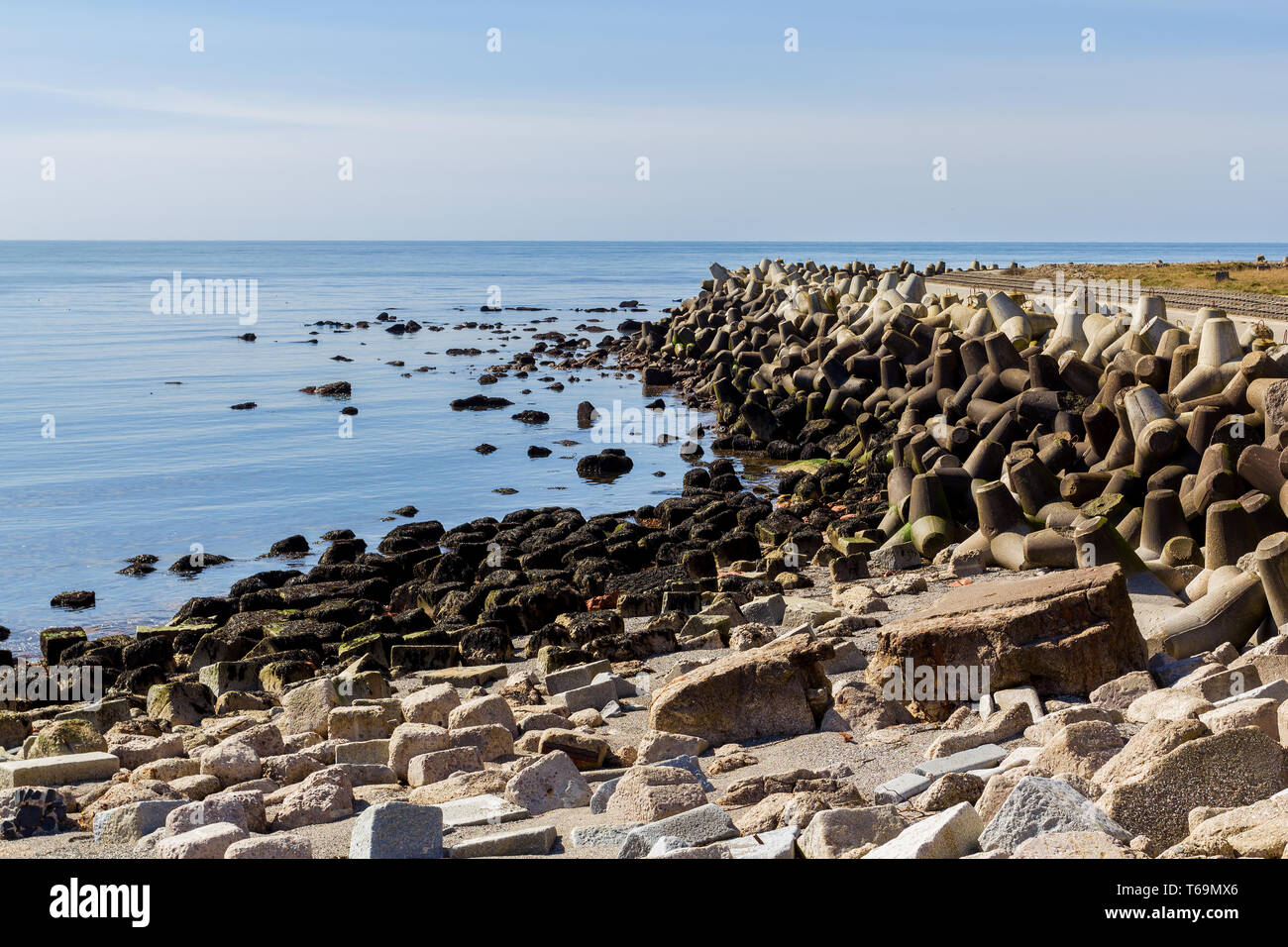 Concrete Wavebreaker High Resolution Stock Photography And Images Alamy