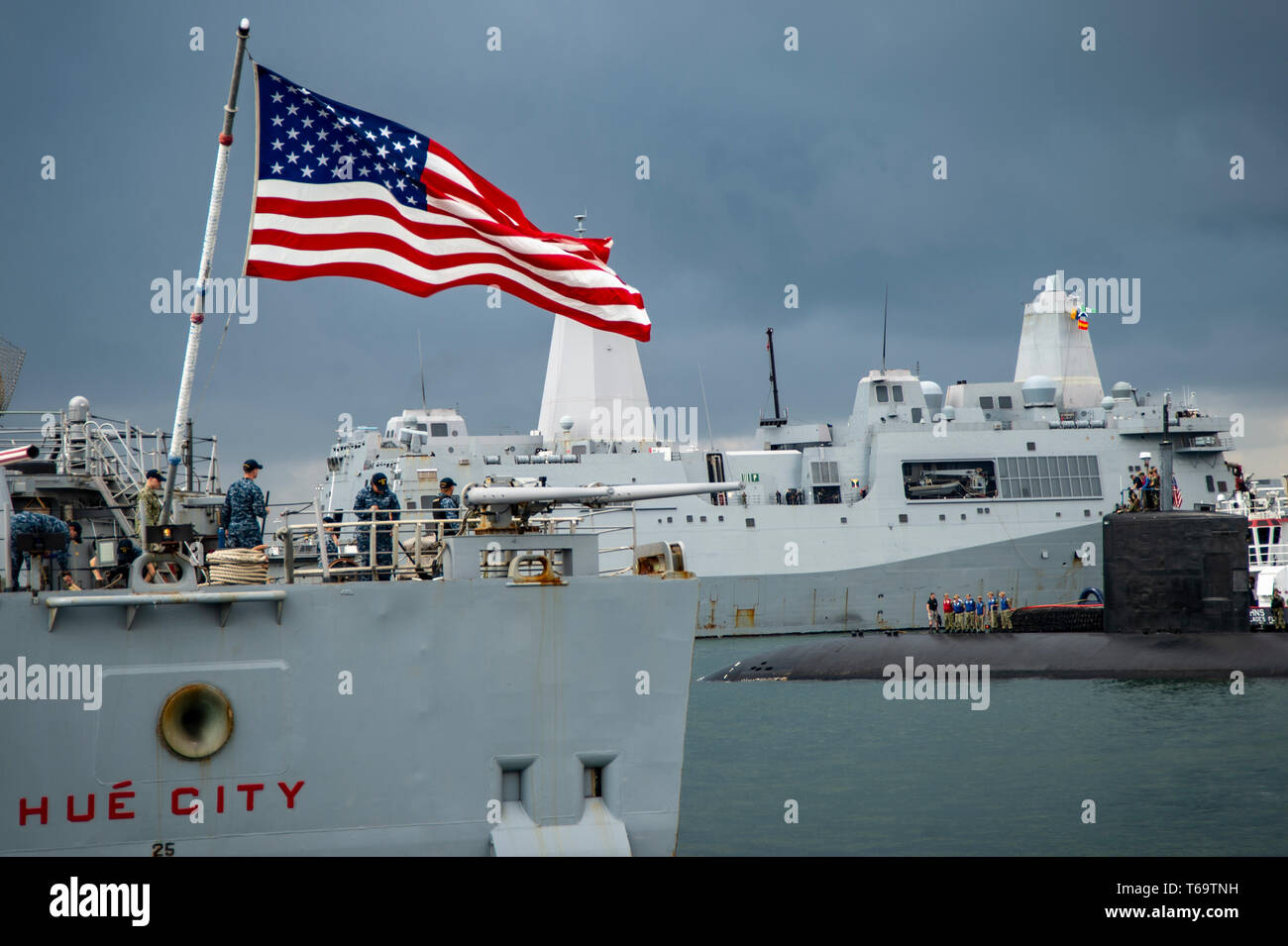 4b401f05a66773 Uss Albany Stock Photos & Uss Albany Stock Images - Alamy