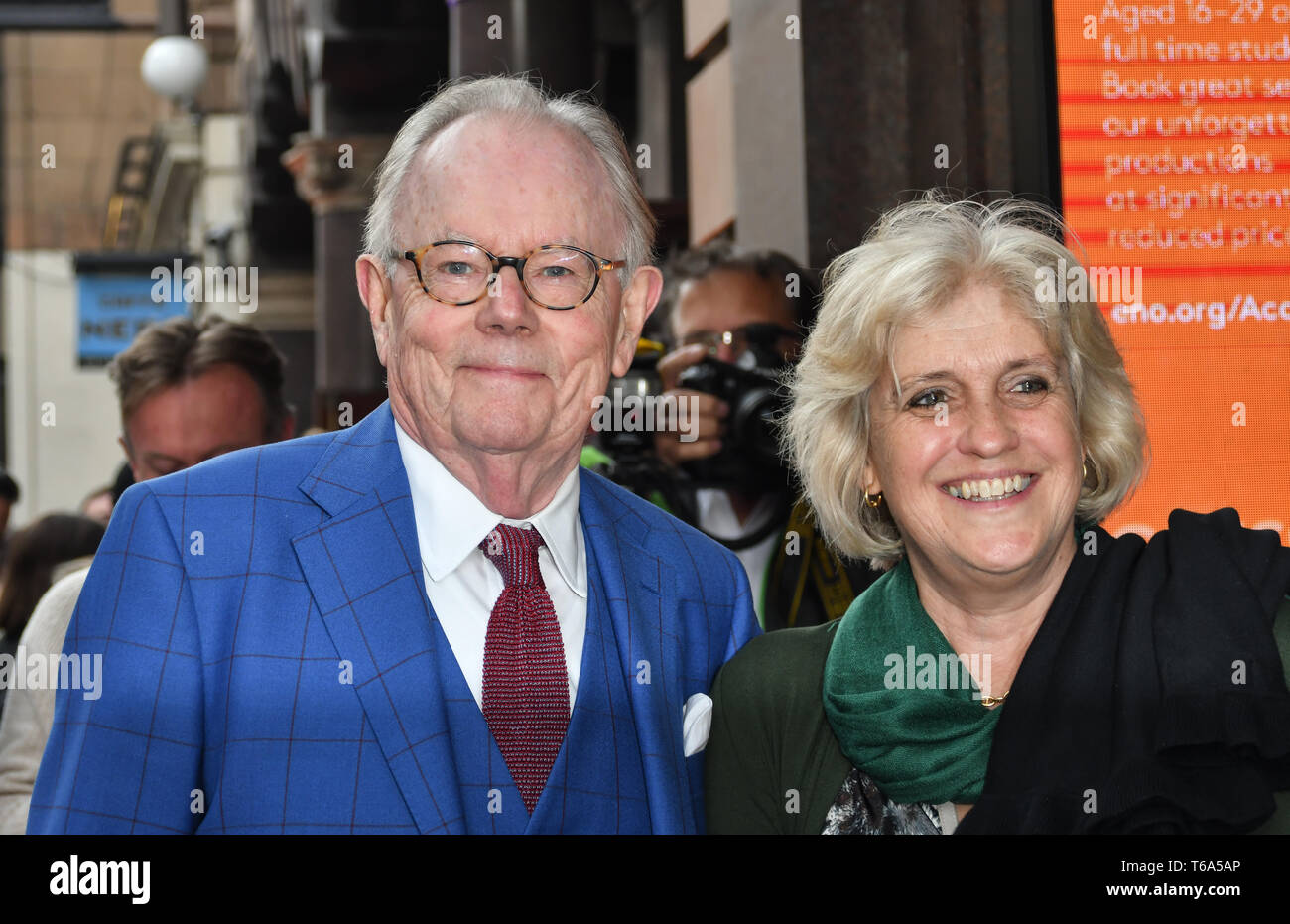 London Coliseum, UK. 30th Apr 2019. Arrivals at Man of La Mancha, at London Coliseum on 30 April 2019, London, UK. Credit: Picture Capital/Alamy Live News - Stock Image