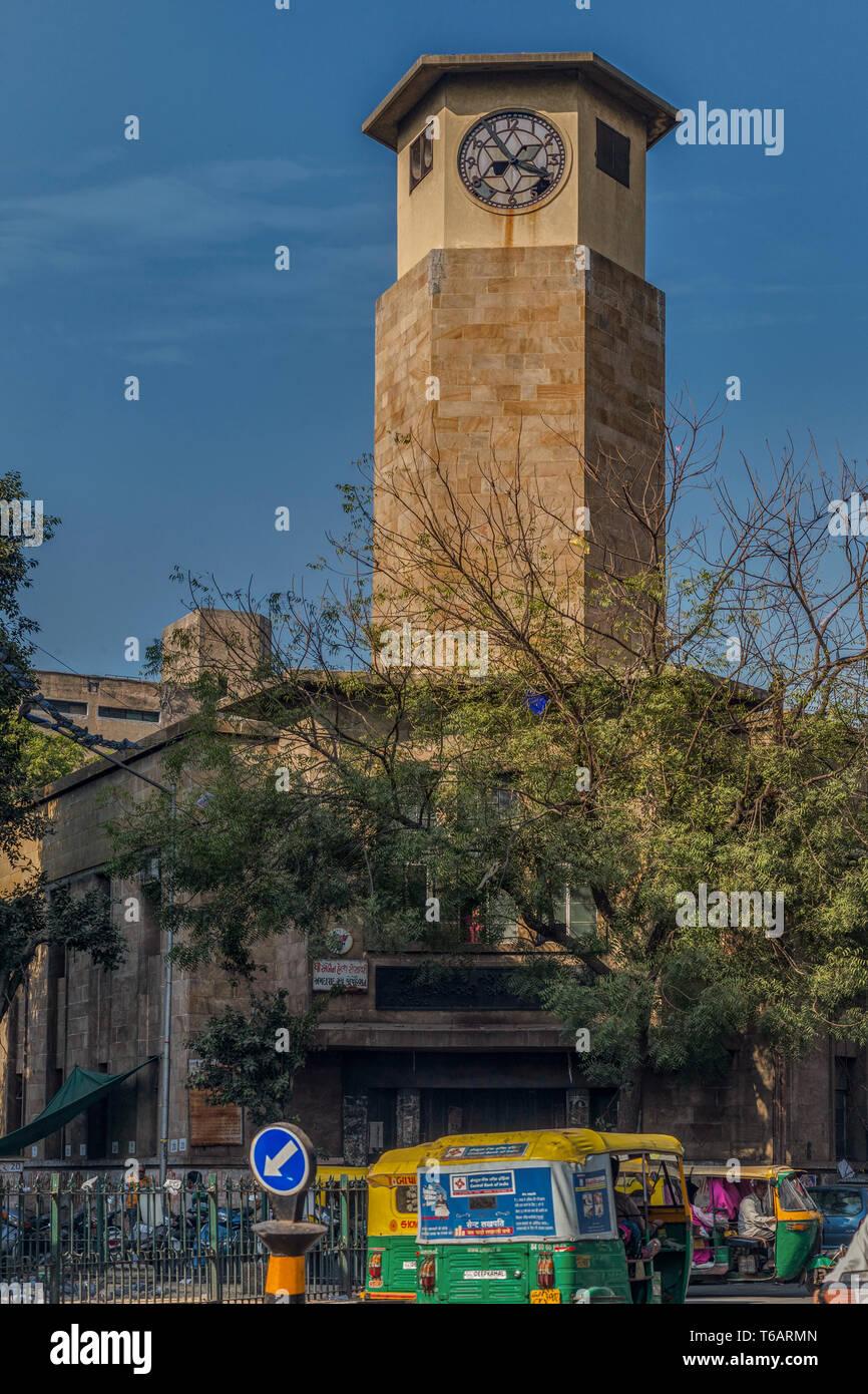 16—Jan-2017-Din bai Tower- Mirzapur Road Khanpur Ahmedabad now Amdavad Gujarat India - Stock Image